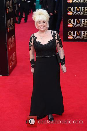 Barbara Windsor - The Laurence Olivier Awards 2014 held at the Royal Opera House - Arrivals - London, United Kingdom...