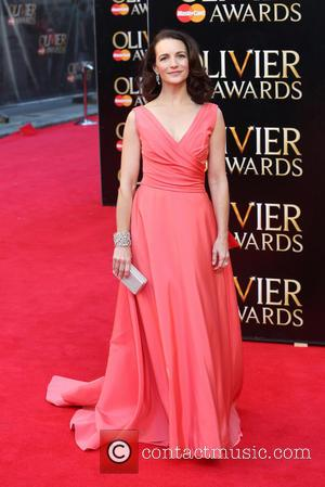 Kristin Davis - The Laurence Olivier Awards 2014 held at the Royal Opera House - Arrivals - London, United Kingdom...