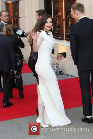 Hayley Atwell - Olivier Awards 2014 held at the Royal Opera House - Arrivals - London, United Kingdom - Saturday...