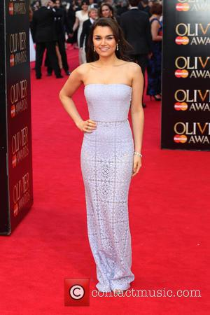 Samantha Barks - Olivier Awards 2014 held at the Royal Opera House - Arrivals - London, United Kingdom - Saturday...
