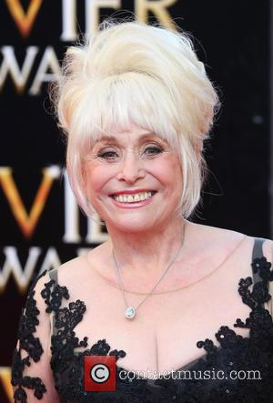 Barbara Windsor - Olivier Awards 2014 held at the Royal Opera House - Arrivals - London, United Kingdom - Saturday...