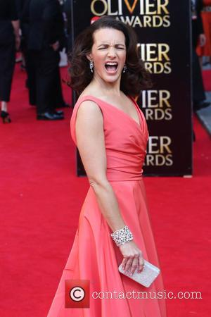 Kristin Davis - Olivier Awards 2014 held at the Royal Opera House - Arrivals - London, United Kingdom - Saturday...