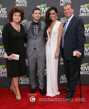 Paola, Vinny Guadagnino, Melanie Iglesias and Uncle Nino - 2013 MTV Movie Awards held at Sony Pictures Studios- Arrivals -...