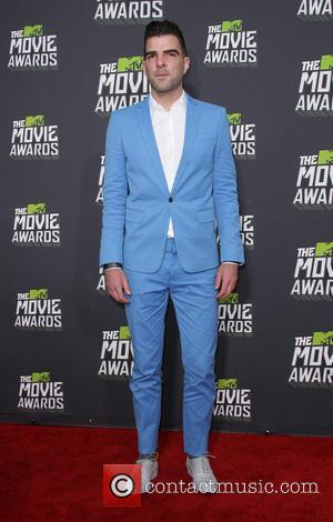 Zachary Quinto - 2013 MTV Movie Awards held at Sony Pictures Studios- Arrivals - Los Angeles, CA, United States -...