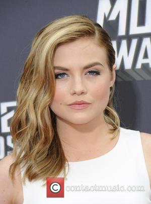 Maddie Hasson - 2013 MTV Movie Awards held at Sony Pictures Studios- Arrivals - Los Angeles, California, United States -...