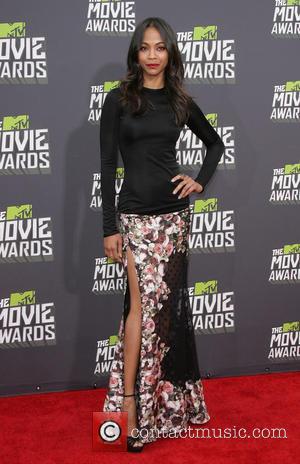 Zoe Saldana - 2013 MTV Movie Awards Arrivals