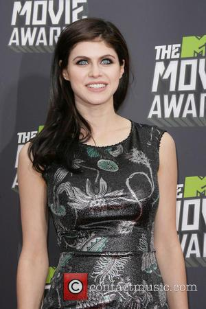 Alexandra Daddario - 2013 MTV Movie Awards held at Sony Pictures Studios - Arrivals - Los Angeles, CA, United States...