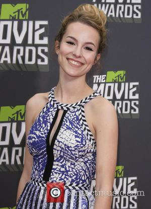 Bridgit Mendler - 2013 MTV Movie Awards held at Sony Pictures Studios - Arrivals - Los Angeles, CA, United States...