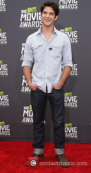 Tyler Posey - 2013 MTV Movie Awards held at Sony Pictures Studios - Arrivals - Los Angeles, California, United States...