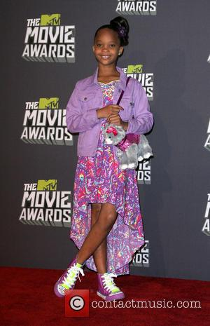 Quvenzhane Wallis - 2013 MTV Movie Awards held at Sony Pictures Studios - Press Room - Los Angeles, CA, United...