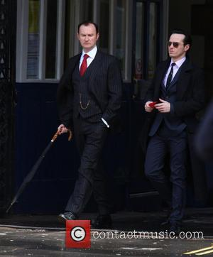 Mark Gatiss and Andrew Scott