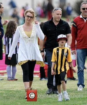 Britney Spears and Jayden Federline
