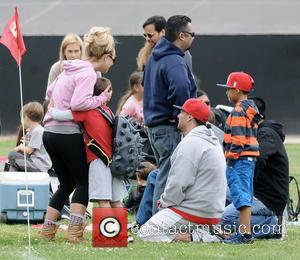Britney Spears, Kevin Federline and Sean Federline