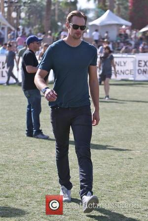 Alexander Skarsgard - Celebrities at the 2013 Coachella Valley Music Festival Week 1 Day 3 - Indio, CA, United States...