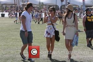 Eric Balfour and Leonor Varela - Celebrities at the 2013 Coachella Valley Music Festival Week 1 Day 3 - Indio,...
