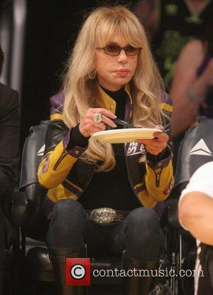 Dyan Cannon - Celebrities attend the Los Angeles Lakers vs San Antonio Spurs NBA basketball game. The Lakers beat the...