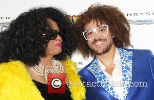 Diana Ross and Red Foo