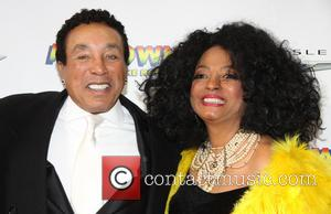 Smokey Robinson and Diana Ross