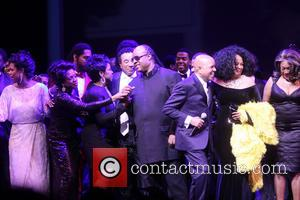 Gladys Knight, Smokey Robinson, Stevie Wonder, Berry Gordy, Diana Ross, Mary Wilson and Cast