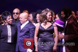Gladys Knight, Stevie Wonder, Berry Gordy, Diana Ross, Mary Wilson, Br, On Victor Dixon and Cast