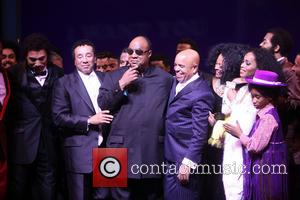 Smokey Robinson, Stevie Wonder, Berry Gordy, Diana Ross, Brandon Victor Dixon, Valisia Lekae and Raymond Luke Jr.