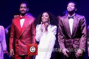 Valisia Lekae, Brandon Victor Dixon and Cast