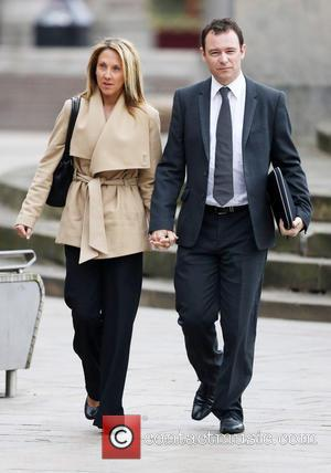 Andrew Lancel, Andrew Watkinson and Louise Katherine Kelly - Former Coronation Street actor Andrew Lancel arrives at Liverpool Crown Court...