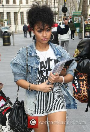 Little Mix and Leigh-Anne Pinnock - Celebrities outside the Capital Fm Radio studios - London, United Kingdom - Monday 15th...