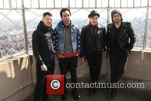 Fall Out Boy, Andy Hurley, Pete Wentz, Patrick Stump and Joe Trohman