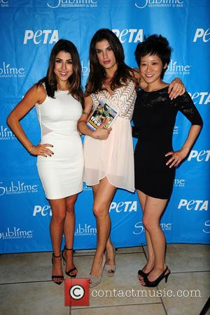 Daniella Monet, Michelle Cho and Elisabetta Canalis