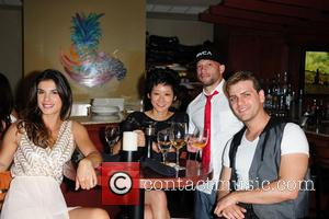 Elisabetta Canalis, Michelle Cho, Pablo Azar and Ami James