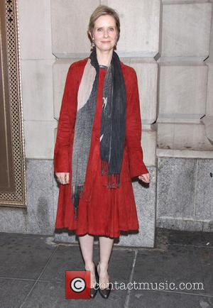 Cynthia Nixon - Opening night of 'The Nance' at the Lyceum Theatre-Arrivals - New York City, New York , United...
