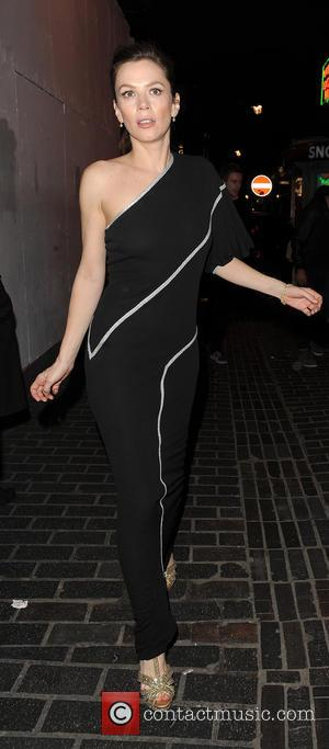 Anna Friel - U.K. film premiere 'The Look of Love' afterparty at The Box Club - London, United Kingdom -...