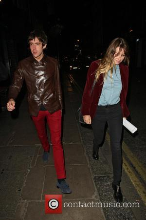 Miles Kane - Musician Miles Kane out and about in Soho with a female companion - London, United Kingdom -...