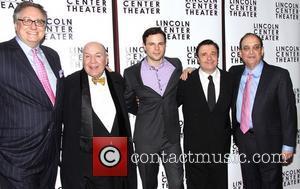 Douglas Carter Beane, Jack O'brien, Jonny Orsini, Nathan Lane and Lewis J. Stadlen