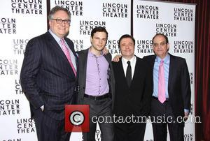 Douglas Carter Beane, Jonny Orsini, Nathan Lane and Lewis J. Stadlen - The opening night after party for 'The Nance'...