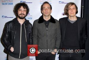 Fabrizio Moretti, Nikolai Fraiture and Albert Hammond Jr