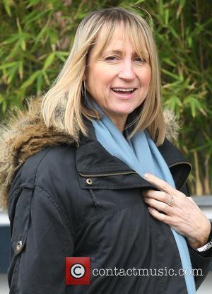 Carol McGiffin - Celebrities outside the ITV Studios - London, United Kingdom - Tuesday 16th April 2013