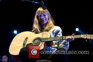 Lucy Rose - Lucy Rose performs live as the opening act for The Counting Crowes at the Heineken Music Hall....