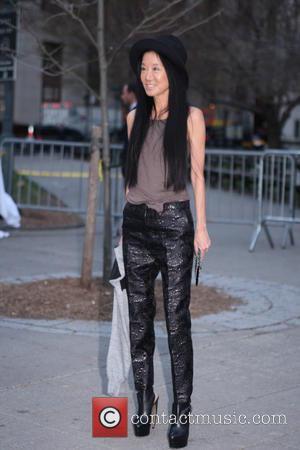 Vera Wang - 2013 Tribeca Film Festival- Vanity Fair Party- Arrivals - New York City , New York , United...