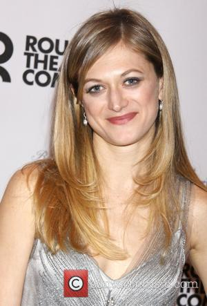Marin Ireland - The Big Knife Broadway play opening night After Party-Departures. - New York, New York, United States -...
