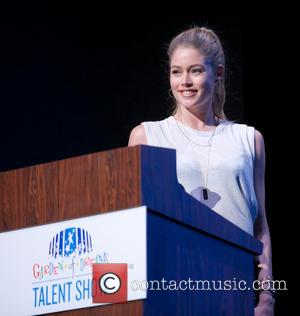Doutzen Kroes - 2013 Garden of Dreams Foundation Talent Show at Radio City Music Hall - onstage - New York,...
