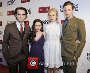 Freya, Landon Liboiron, Penelope Mitchell and Bill Skarsgard