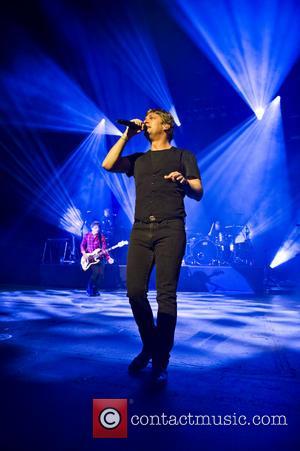 Rob Thomas - American rock band, Matchbox 20 performing live at the HMV Hammersmith Apollo - London, United Kingdom -...