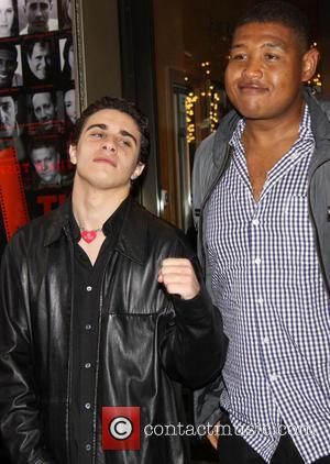 Jake Cannavale and Omar Miller