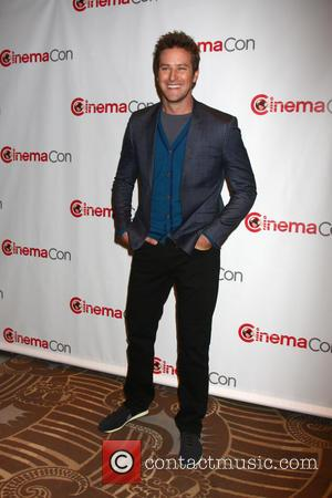 Armie Hammer - Disney event during 2013 CinemaCon at Caesars Palace Resort and Casino - Las Vegas, Nevada, United States...