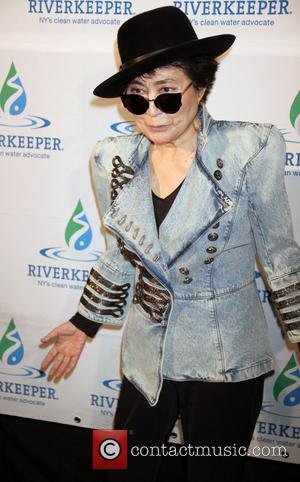 Yoko Ono - 2013 Riverkeeper's Fishermen's Ball at Pier 60 - New York City, United States - Tuesday 16th April...