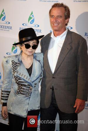 Yoko Ono and Robert Kennedy Jr