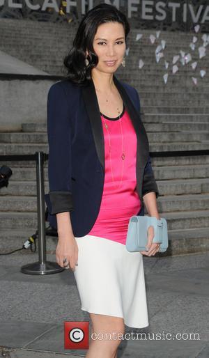 Wendi Deng Murdoch - 2013 Tribeca Film Festival- Vanity Fair Party- Arrivals - New York City, NY, United States -...