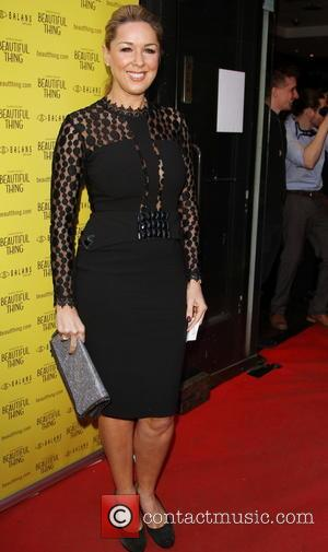 Claire Sweeney - 'Beautiful Thing' Press Night at The Arts Theatre - Arrivals - London, United Kingdom - Wednesday 17th...